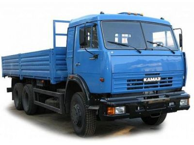 Камаз - грузовые российские автомобили