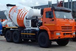 Автобетоносмеситель 58146 на шасси КАМАЗ-43118-50 (6х6)
