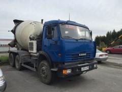 Автобетоносмеситель 58147А на шасси КАМАЗ-65115